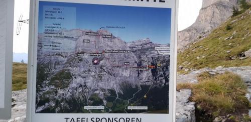 Karte Klettersteig